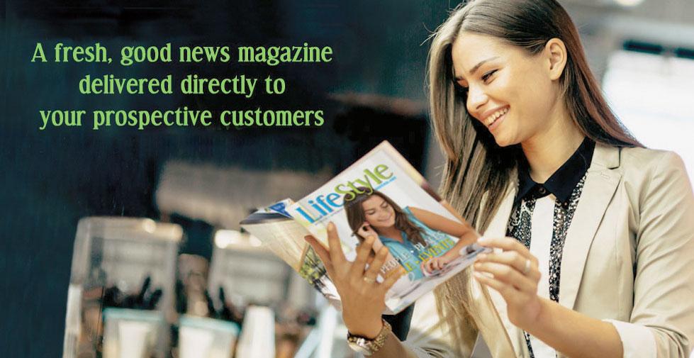 Woman Reading LifeStyle Magazine