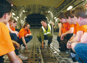 Youth experience a career in the Defence Force