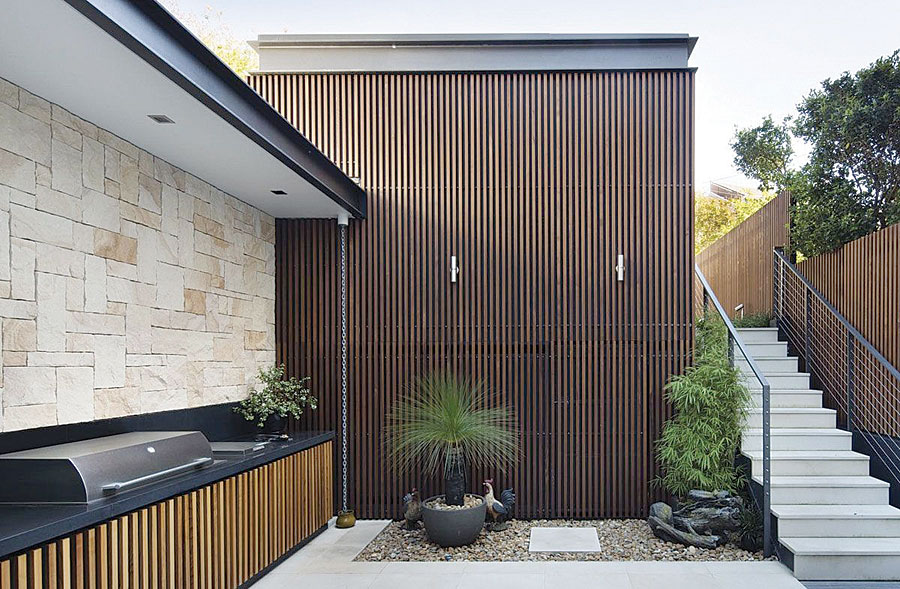 Matt Leacy's tips to create that outdoor feature wall ... on Backyard Feature Walls id=80586