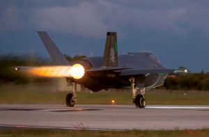 F-35 JSF takes to the sky
