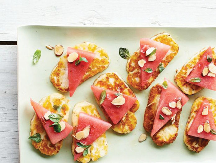 Haloumi watermelon