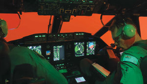 Spartan Pilots fly in poor bushfire conditions